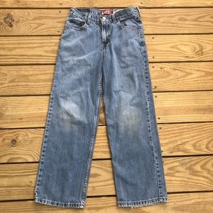 Levi's 550 26 1/3 by 26 1/2 jeans